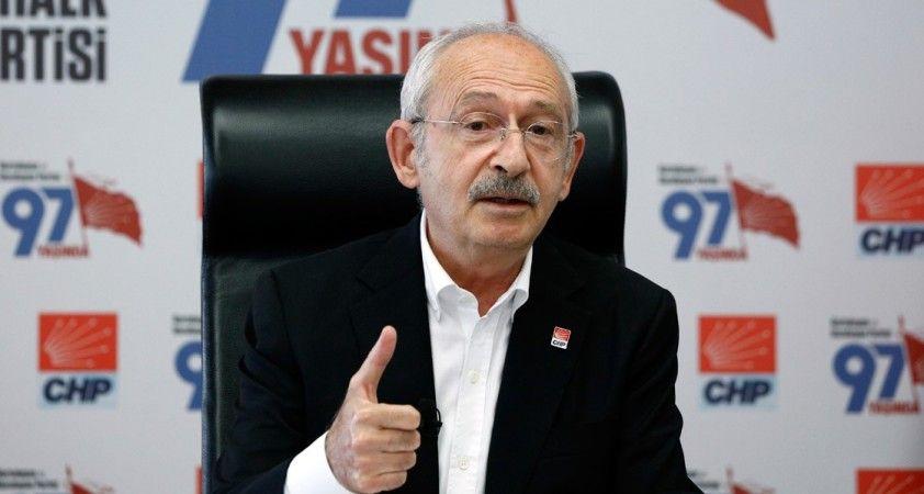CHP Genel Başkanı Kılıçdaroğlu: Ermenistan'ın işgal ettiği Azeri topraklarından çekilmesi lazım