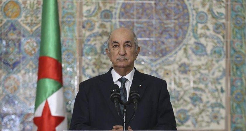 Cezayir Cumhurbaşkanı Tebbun: Filistinlilerin Başkenti Kudüs olan devletlerini kurma hakları pazarlık konusu değil