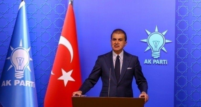 AK Parti Sözcüsü Ömer Çelik: 'Ermenistan ateşle oynuyor'
