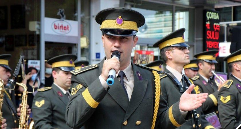 Gaziler Günü'ne komutanın sesi damga vurdu