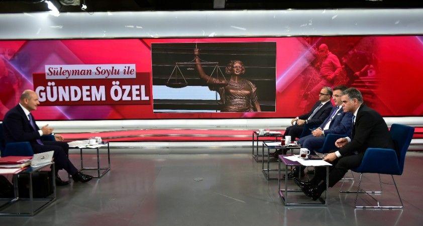 """İçişleri Bakanı Soylu: """"Türk yargısı şuanda büyük bir sınav veriyor"""""""