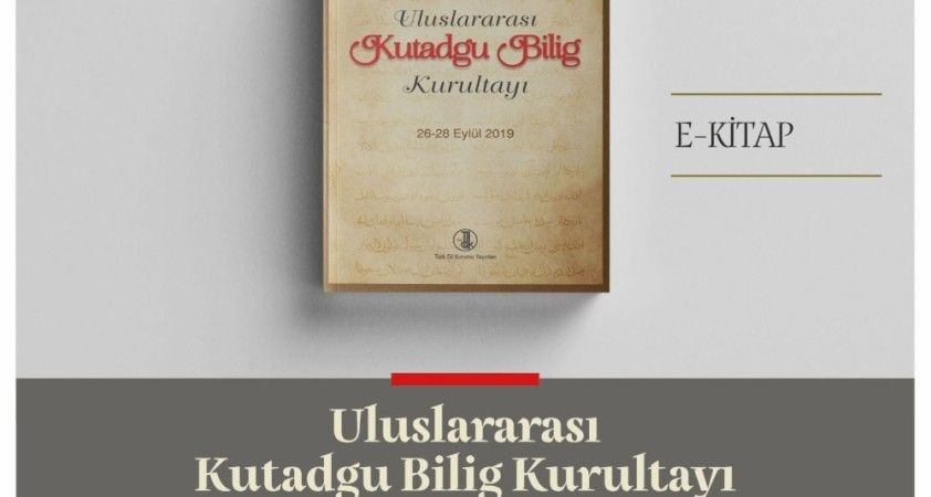 Türk Dil Kurumu'ndan yeni bir e-kitap: