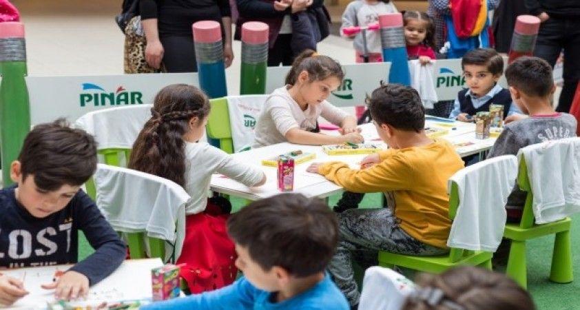 Çocukların hayalleri renklerle buluşuyor