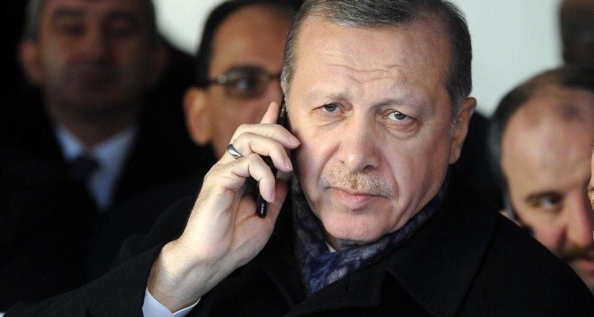 Cumhurbaşkanı Erdoğan, Birleşik Krallık Başbakanı Johnson ile telefonda görüştü