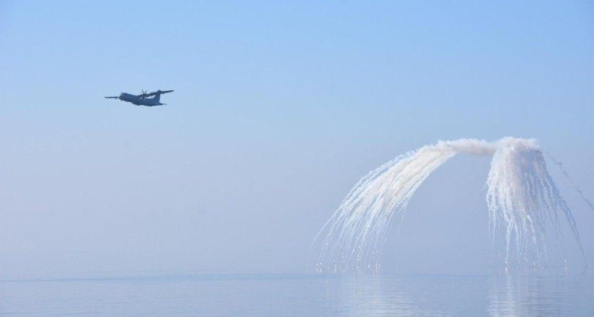 TSK'ya ait deniz karakol uçağının, kabul test uçuşu başarıyla tamamladı