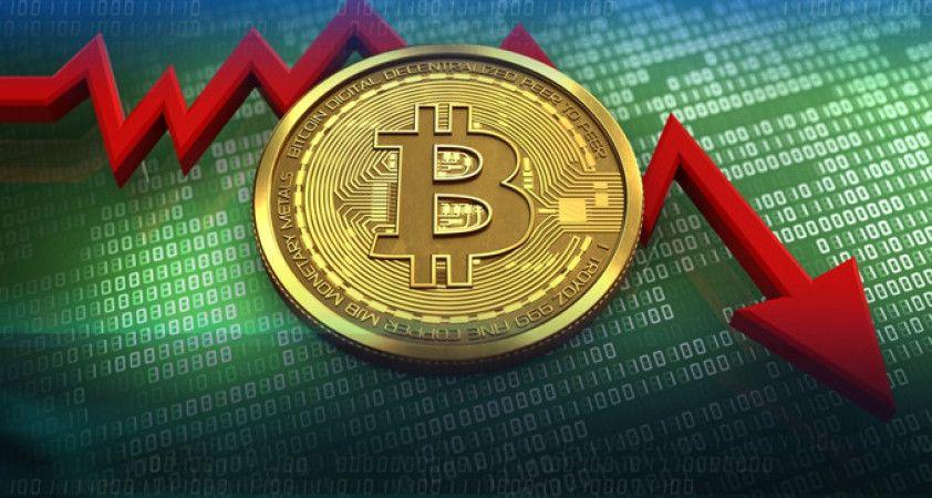 Bitcoin'de yön yeniden aşağı döndü
