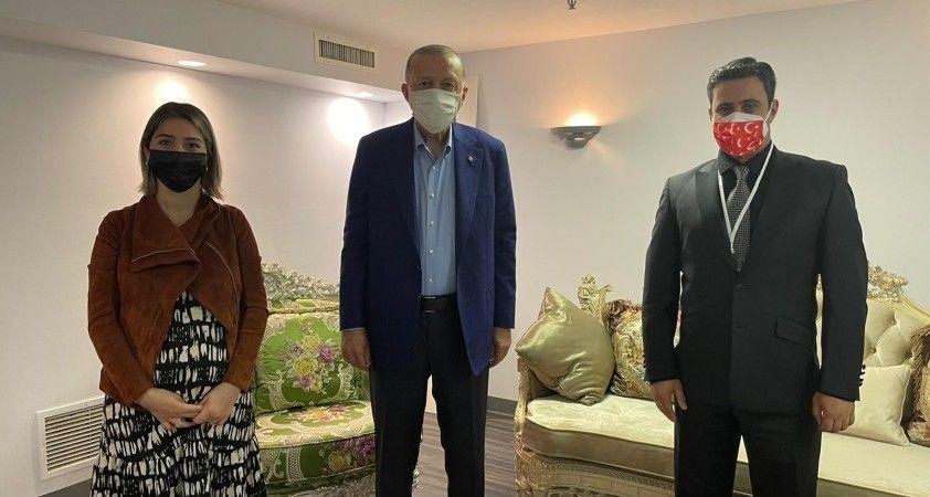 Cumhurbaşkanı Erdoğan'dan ABD'de yaşayan Trabzonlu çifte anlamlı jest