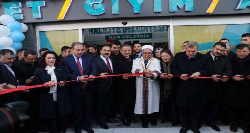 Özheseki Şanlıurfa'da sosyal market açılışına katıldı