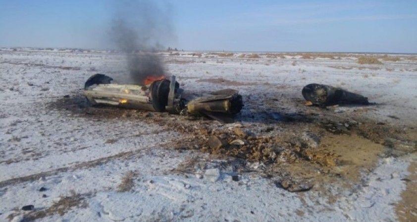 Rusya'nın balistik füzesi Kazakistan'a düştü