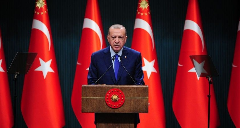 """Cumhurbaşkanı Erdoğan: """"5. ve 9. sınıflarda yüz yüze eğitim 2 Kasım'da"""""""