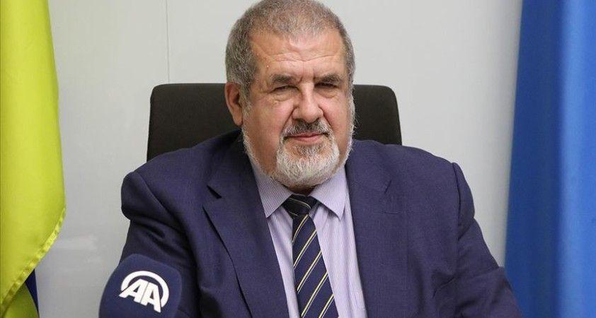 Kırım Tatar Milli Meclisi Başkanı Çubarov'dan Macron'a tepki