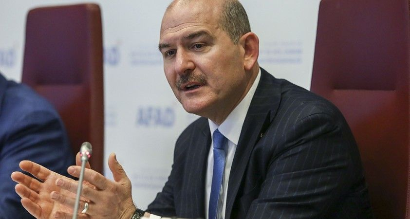İçişleri Bakanı Soylu'dan CHP Genel Başkanı Kılıçdaroğlu'nun düzensiz göç iddialarına cevap
