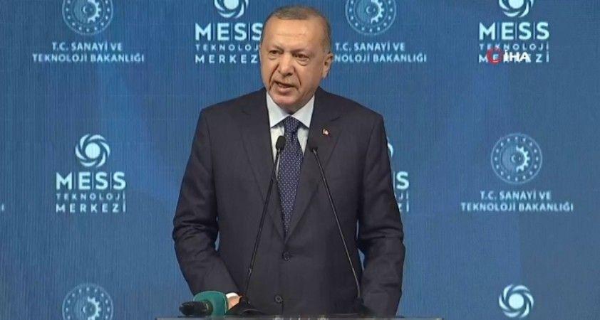 Cumhurbaşkanı Erdoğan Dereli'nin ardından selden zarar gören Doğankent ilçesine ziyarette bulundu