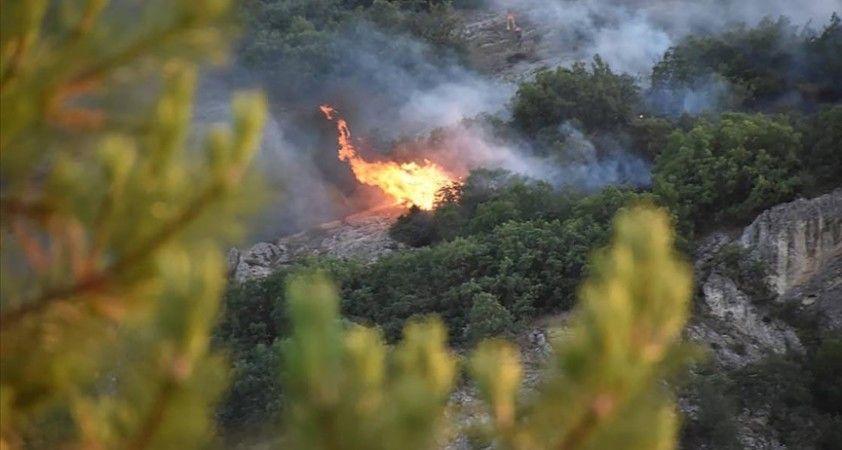 Kızılcahamam'da çıkan orman yangını kontrol altına alındı