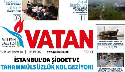 Güzel Vatan e-gazete sayı:125 - 2020 Şubat