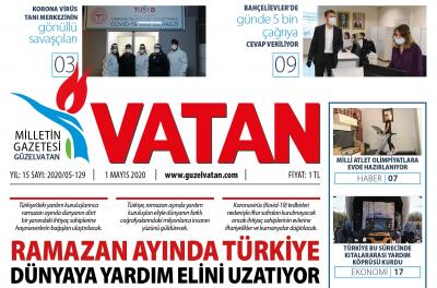 Güzel Vatan E-Gazete Mayıs 2020 Sayı:128