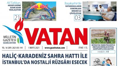 GüzelVatan E-Gazete - Mayıs 2021