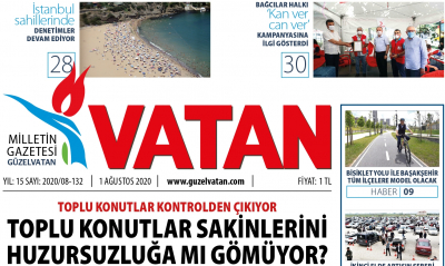 GüzelVatan E-Gazete - Ağustos 2020