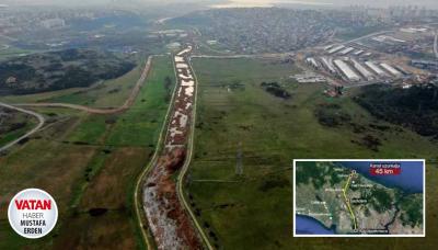 Kanal İstanbul'un çevresi değer kazanmaya devam ediyor